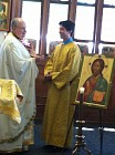 Altar Server George Touloumes '14