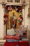 Ss. Peter and Paul with gifts wrapped by PU OCF